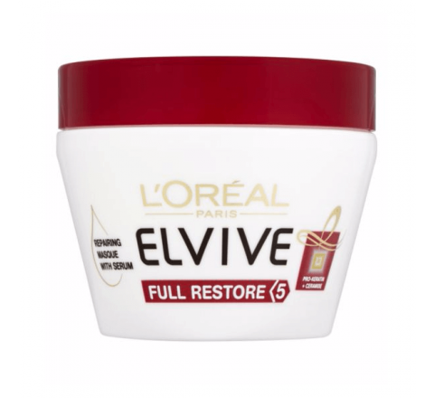 L'Oreal Elvive Full Restore 5 Damaged Hair Masque 300ml