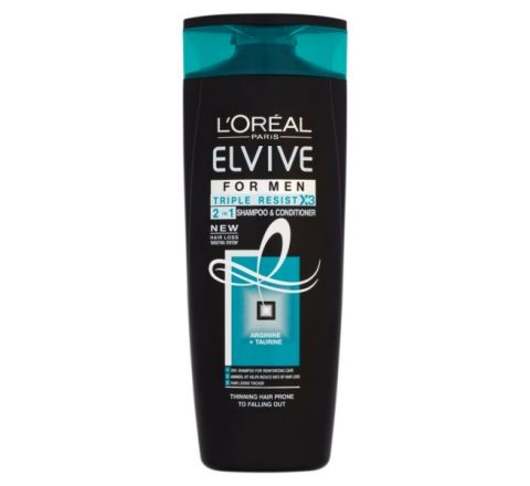 L'Oreal Elvive Men Thinning Hair 2in1 Shampoo 400ml Triple Resist