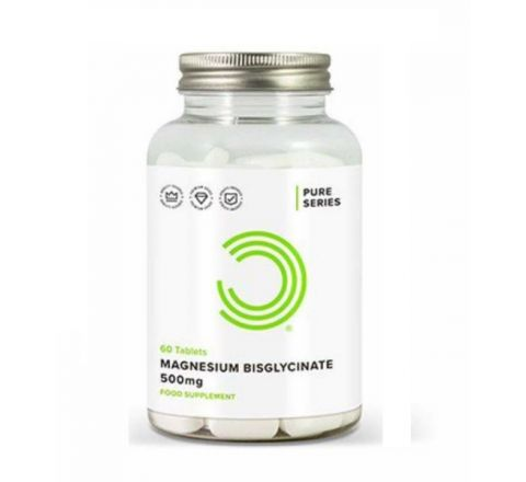 Magnesium Bisglycinate 60 Tablets 500mg