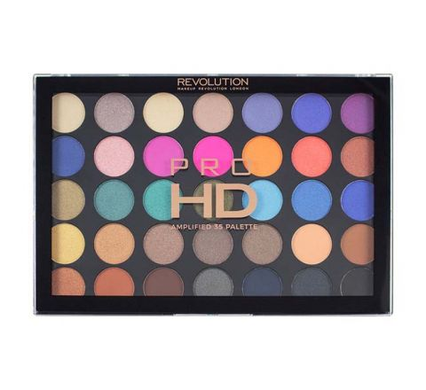 Makeup Revolution Defiant Pro HD Amplified 35 Eyeshadow Palette