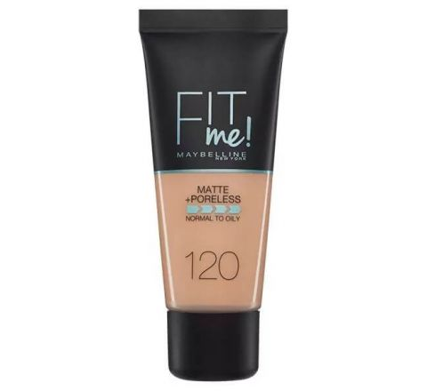 Maybelline Fit Me Matte & Poreless Foundation 120 Class Ivory 30ml