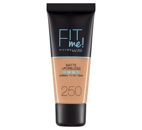 Maybelline Fit Me Matte & Poreless Foundation 250 Sun Beige 30ml