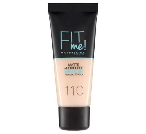 Maybelline Fit Me Matte & Poreless Foundation 110 Porcelain 30ml