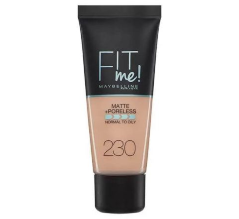Maybelline Fit Me Matte & Poreless Foundation 230 Natural Buff 30ml