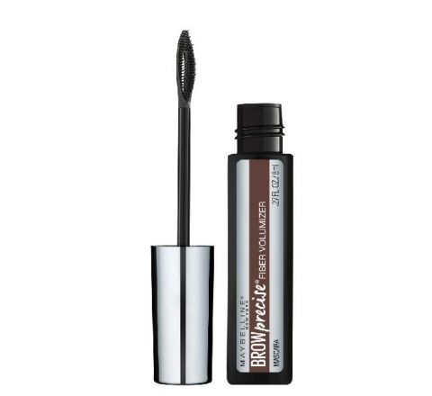 Maybelline Brow Precise Fiber Filler Mascara Deep Brown