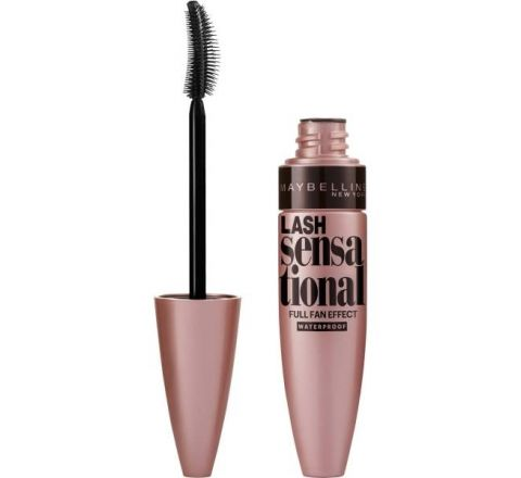 Maybelline New York Lash Sensational Mascara, Waterproof Very Black