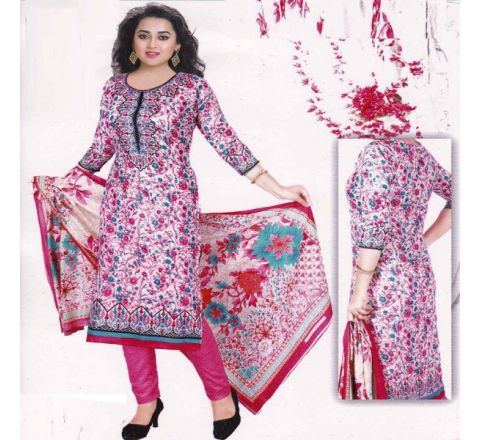 Unstitched Cotton Salwar Kameez MIA-11