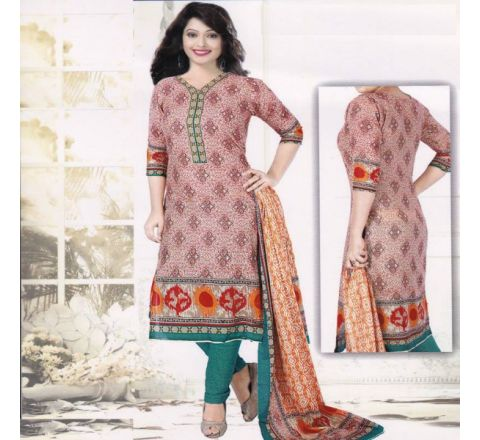 Unstitched Cotton Salwar Kameez MIA-13