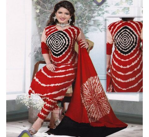 Unstitched Cotton Salwar Kameez MIA-14
