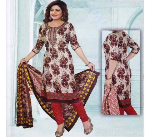 Unstitched Cotton Salwar Kameez MIA-19