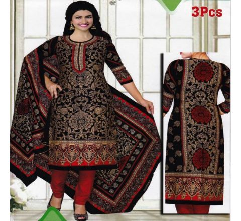 Unstitched Cotton Salwar Kameez MIA-02
