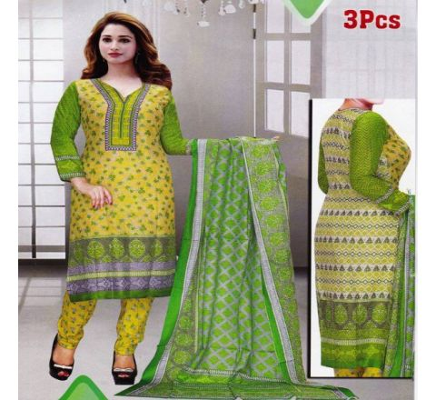 Unstitched Cotton Salwar Kameez MIA-04