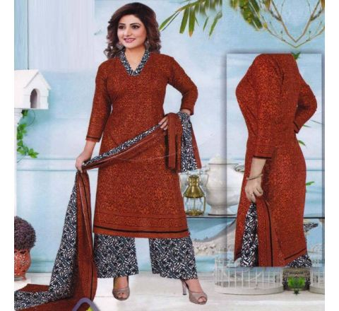 Unstitched Cotton Salwar Kameez MIA-07