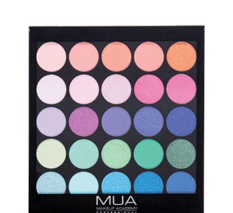 MUA Eyeshadow Palette - Tropical Oceana 054