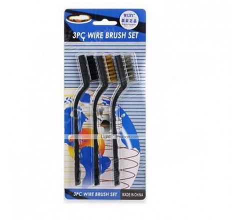 3Pcs Wire Brush Set