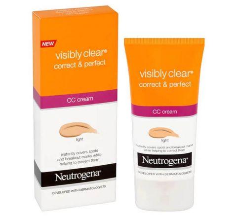 Neutrogena Visibly Clear Correct & Perfect CC Cream Light 50ml