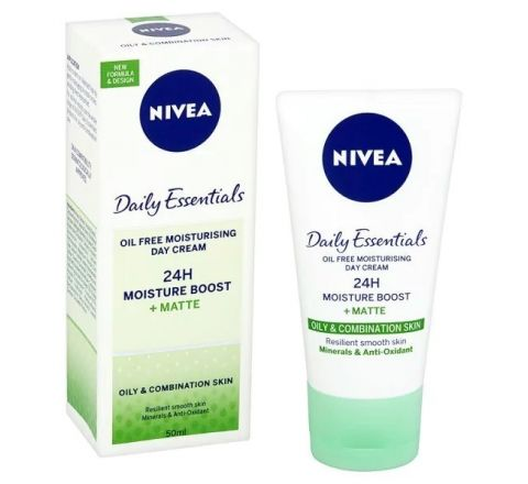 Nivea Visage Oil Free Matte Moisturising Day Cream 50ml