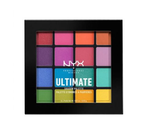 NYX Professional Makeup Ultimate Shadow Palette -Brights