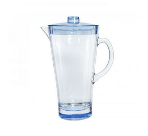ACRAYLIC MS PITCHER 1.7 LTR BLUE