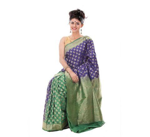 Banarasi Opera Katan Saree OB24