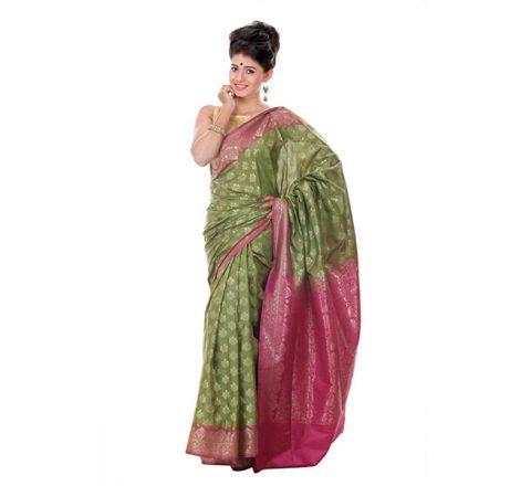 Banarasi Opera Katan Saree OB25