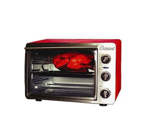 OCEAN ELE Oven Electric 21 Ltr. Red With Rotisserie OEO2112R