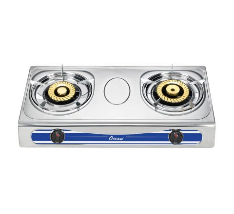 Ocean Gas Cooker Double Burner S/S OGCB2101A