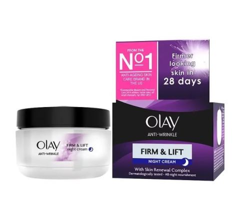 Olay Anti-Wrinkle Firm & Lift Moisturiser Night Cream 50ml