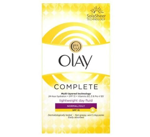 Olay Complete Lightweight 3in1 Moisturiser Day Fluid SPF15 Normal/oily 100ml