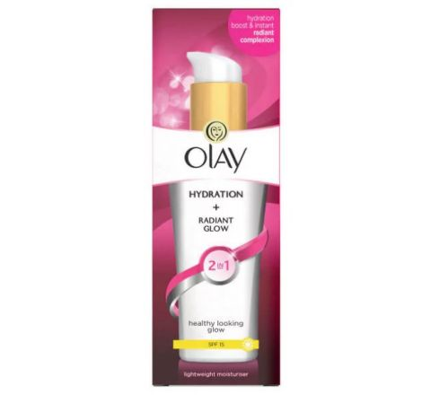 Olay 2in1 Hydration + Radiant Glow Moisturiser Lotion 75ml