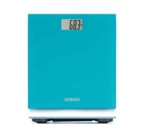 OMRON HN289 DIGITAL PERSONAL WEIGHT SCALE - BLUE