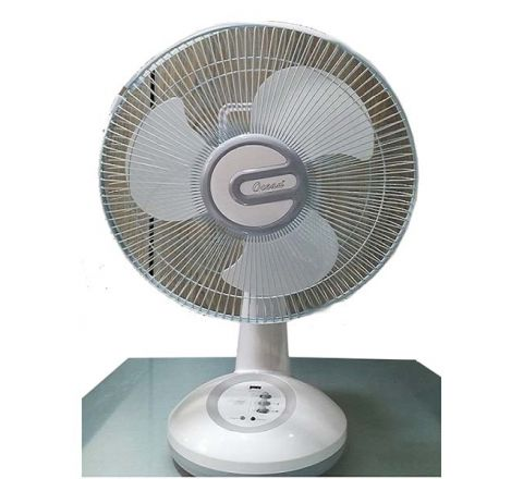 OCEAN ELE Rechargeable Fan With Led Light ORF7610