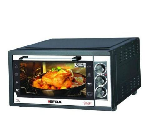 EFBA Electronic Oven Rotisserie & Turbo W Lamp 40L 5004B