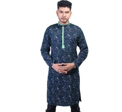 LAVELUX Cotton Multi-color Mens Panjabi LMP113