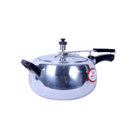 BAJAJ Pressure Cooker Handi 5L PCX65 - Silver