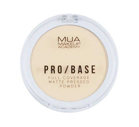 MUA Pro/Base Full Coverage Matte Pressed Powder #100