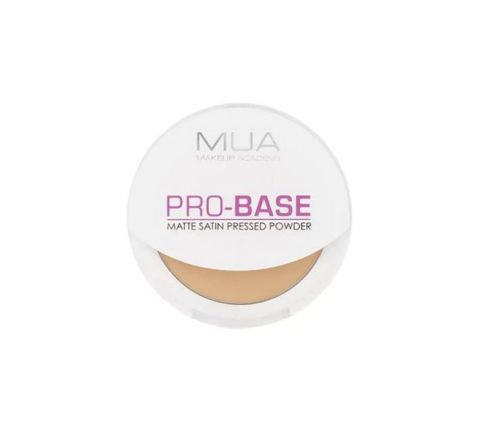 MUA Pro Base Matte Satin Pressed Powder - Translucent