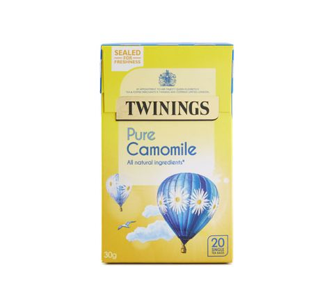 PURE CAMOMILE - 20 SINGLE TEA BAGS