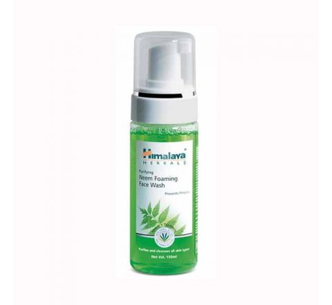 Himalaya Purifying Neem Foaming Face Wash-150 Ml