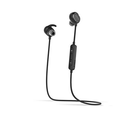 QCY QY19 WIRELESS EARPHONES HEADSET - BLACK