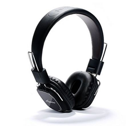 REMAX 100H Stereo Headband Headphones with Microphone - Black