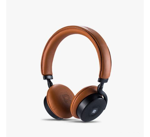 REMAX TOUCH CONTROL 300HB WIRELESS BLUETOOTH HEADPHONES - Brown