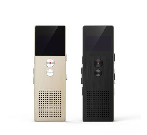 REMAX RP1 VOICE RECORDER/MP3 MUSIC PLAYER - Gold