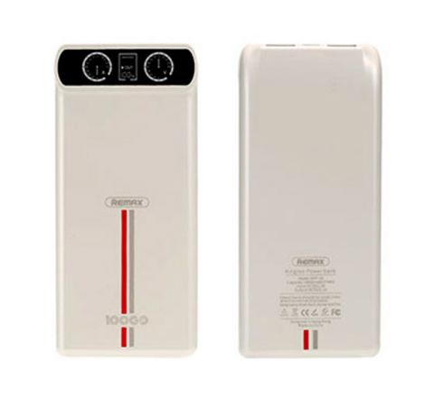 REMAX RPP-18 10000MAH POWER BANK - White