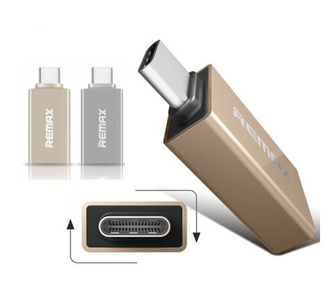 REMAX TYPE-C USB3 OTG Gold