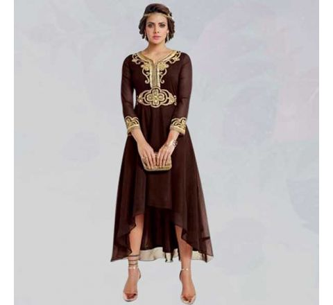 Sasya Kurtis With Heavy Diamond Cut Embroidery - 133