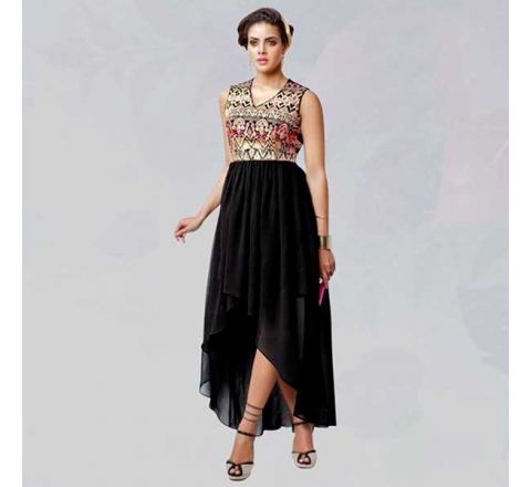 Sasya Kurtis With Heavy Diamond Cut Embroidery - 139