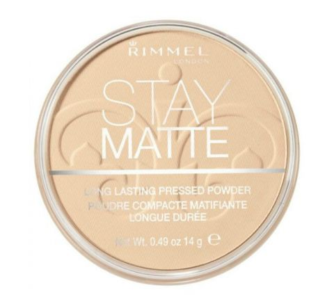 Rimmel Stay Matte Pressed Powder Transparent 1