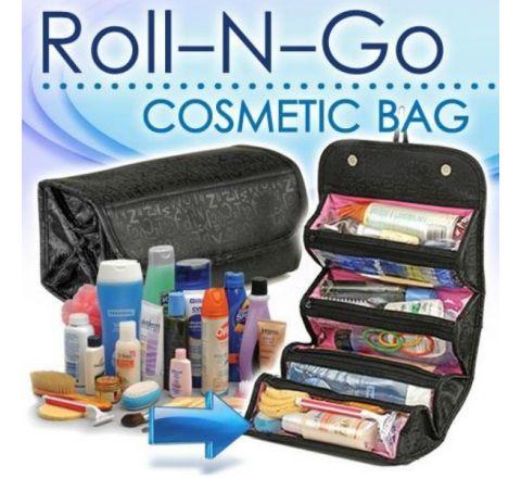 Roll n Go Cosmetic Bag Organizer