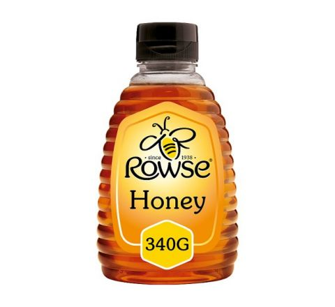 Rowse Squeezable Clear Honey 340g